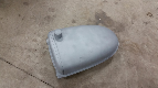 H tractor gas tank blasted